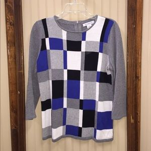 Liz Claiborne 3/4 Sleeve Sweater